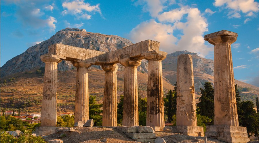 Nafplion to Ancient Corinth