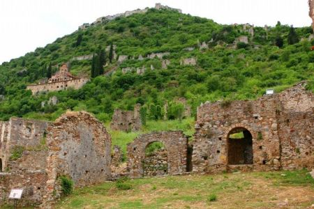 Gythion to Mystras and Diros Caves