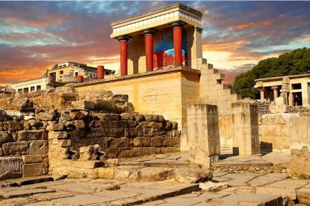 Heraklion and Knossos Highlights